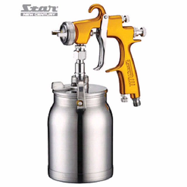V3 LVLP2000 SPRAY GUN SUCTION 2.0MM GOLD - Star New Century
