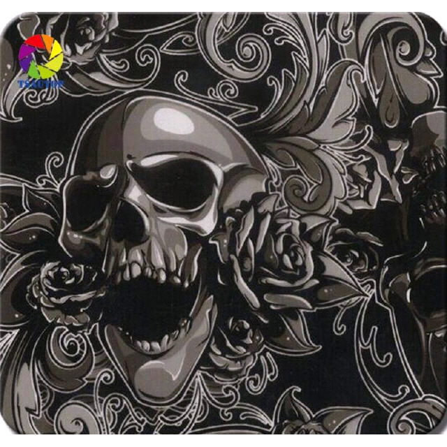 5 Mtr Hydrographic Film Water Transfer Hydro-Dipping Hydro Dip  Skulls