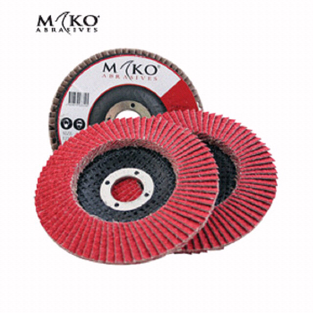 115MM FLAP DISC CERAMIC 120 GRIT - Mako