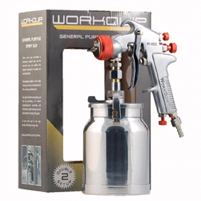 GENERAL PURPOSE SUCTION SPRAY GUN - Workquip