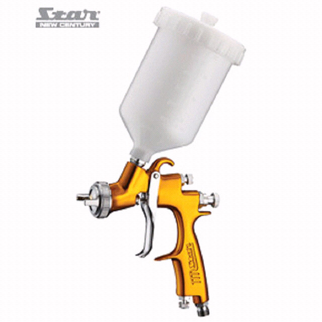 V3 LVLP4000 SPRAY GUN GRAVITY 1.2MM GOLD - Star New Century