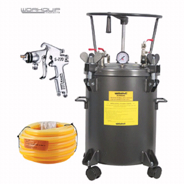 20LTR MAN KIT PRES (POT/10M-HOSE/S770P) - Workquip