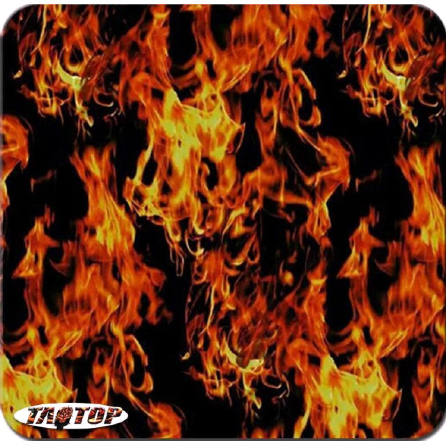 5 Mtr Hydrographic Film Water Transfer Hydro-Dipping Hydro Dip  Fire Flame