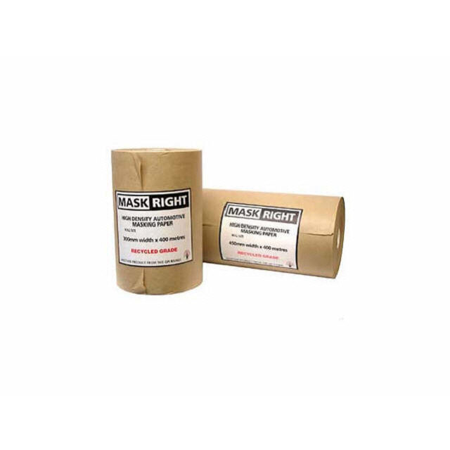 Masking Paper Mask Right 150mm x 400M