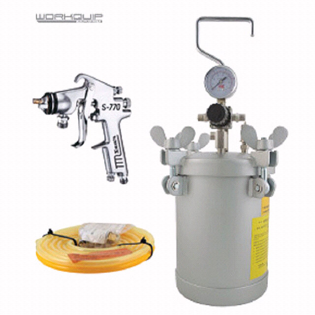 4LTR KIT PRESSURE (POT/2M-HOSE/S770P) - Workquip