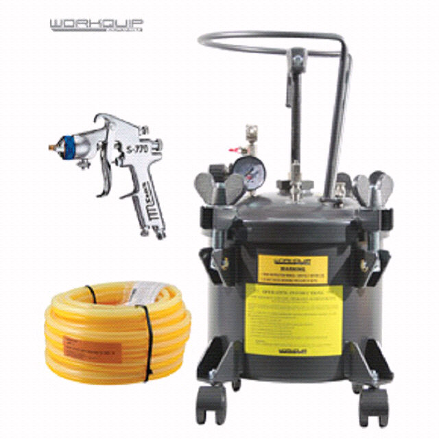 10LTR MAN KIT GEN (POT/15M-HOSE/S770H) - Workquip