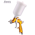 V3 LVLP4000 SPRAY GUN GRAVITY 1.6MM GOLD - Star New Century