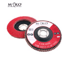 125MM FLAP DISC CERAMIC 40 GRIT - Mako