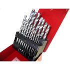 19pc HSS Twist Drill Set 1-10mm (HSD1019B)