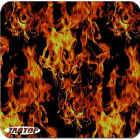 FREE ACTIVATOR WITH 5 MTRS Hydrographic Film   Hydro-Dipping Hydro Dip  Fire Flame