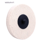 75MM TWIST LOCK WOOL WHEEL - Workquip