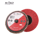 75MM TWISTLOCK FLAP DISC CERAMIC 80 GRIT - Mako