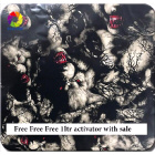 FREE ACTIVATOR WITH 5 MTRS Hydrographic Film   Hydro-Dipping Hydro Dip  wolves